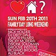 Do You ♥ HOUSE? Family Day Edition (Sun Feb 20th)
