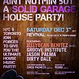 Aint Nuthin But A Solid Garage House Party w/ Jellybean Benitez (NYC)