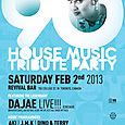 The 90s House Music Tribute Party