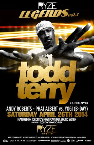 ToddTerry2014Poster
