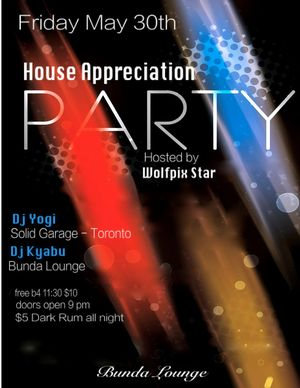 Bunda House Appreciation Party