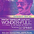 DJ Spinna Wonder-Full Party (Sat Nov 1st)