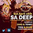 SA Deep Party w/ Dino & Terry + Mark & Yogi (Sat April 16th)