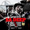 SA Deep Party w/ Dino & Terry + Mark & Yogi (Sat May 27th)