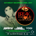 Break For Love Xmas Party w/ Jojoflores, Dave Campbell & Yogi (Sat Dec 23rd @ Nest)