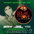 Break For Love Xmas Party w/ Jojoflores, Dave Campbell & Yogi (Sat Dec 23rd @ Nest)