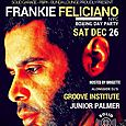 Solid Garage Boxing Day Party w/ Frankie Feliciano (NYC)
