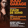 Solid Garage w/ Culoe De Song (Sat June 11th)