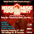 House Music Pop Up Party (Sat Feb 11th @ Revival Bar Basement)