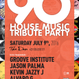 The 90's House Music Tribute Party (Sat July 9th)