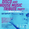 Disco & House Music Tribute Party w/ Byron Stingily (Ten City)