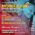 Antonio Ocasio Album Release Party (Sat Sept 29th)