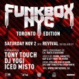 Funkbox w/ Tony Touch (Toronto Edition)
