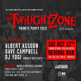Twilight Zone Tribute Party 2019 w/ CD Giveaways (Thanksgiving Sat Oct 12th)