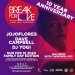 Break For LOVE! 10 Year / Family Day Party (Sun Feb 16th)