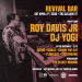 Roy Davis Jr at Revival Bar (Sat April 4th)