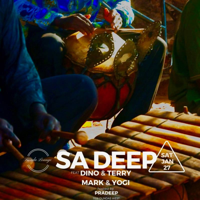 SA Deep Party w/ Dino & Terry + Mark & Yogi (Sat Jan 27th)