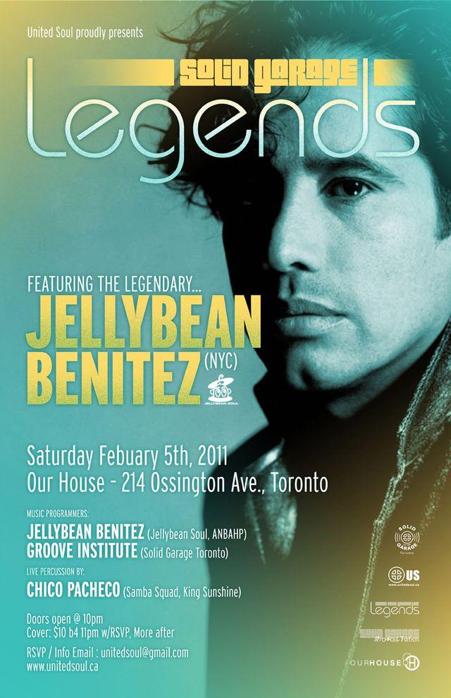 Solid Garage Legends w/ Jellybean Benitez (NYC)