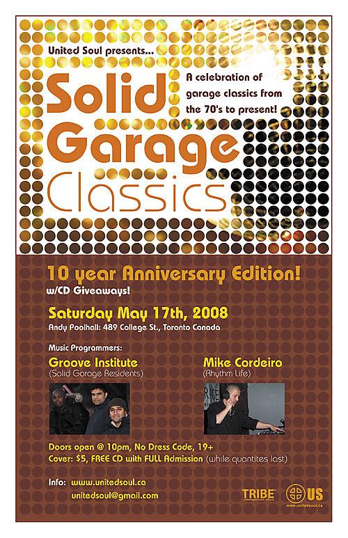 Solid Garage Classics 10yr Anniversary Edition