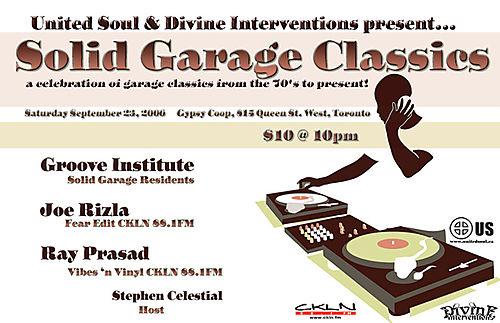 Solid Garage Classics Returns!