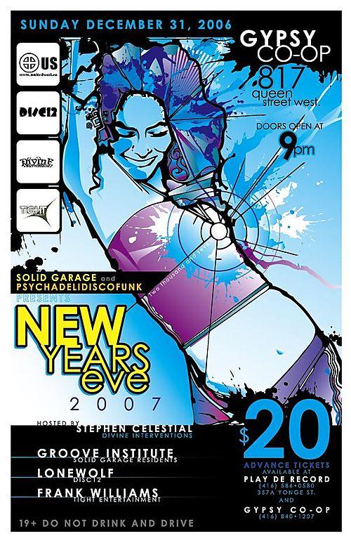 NYE 2007 w/Solid Garage & Psychadelidiscofunk